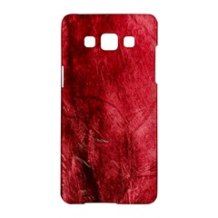 Red Background Texture Samsung Galaxy A5 Hardshell Case