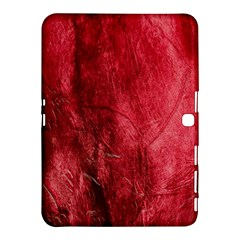 Red Background Texture Samsung Galaxy Tab 4 (10.1 ) Hardshell Case