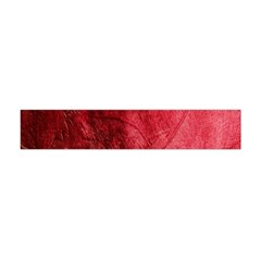 Red Background Texture Flano Scarf (mini)