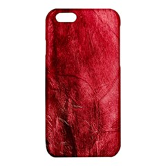 Red Background Texture iPhone 6/6S TPU Case