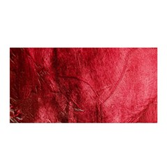 Red Background Texture Satin Wrap