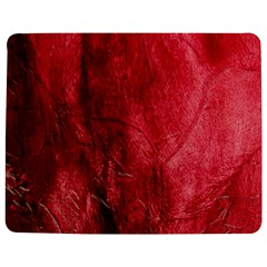 Red Background Texture Jigsaw Puzzle Photo Stand (Rectangular)