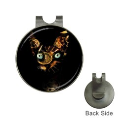 Sphynx cat Hat Clips with Golf Markers