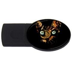 Sphynx cat USB Flash Drive Oval (4 GB)
