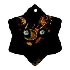 Sphynx cat Snowflake Ornament (Two Sides)