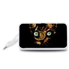 Sphynx cat Portable Speaker (White)