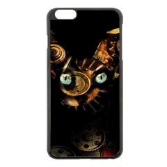 Sphynx cat Apple iPhone 6 Plus/6S Plus Black Enamel Case
