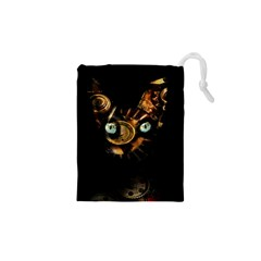 Sphynx cat Drawstring Pouches (XS)