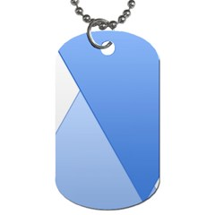 Stripes Lines Texture Dog Tag (one Side)