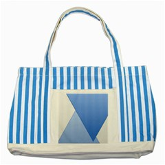 Stripes Lines Texture Striped Blue Tote Bag