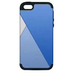 Stripes Lines Texture Apple iPhone 5 Hardshell Case (PC+Silicone)