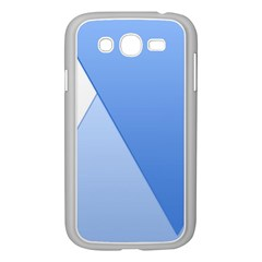 Stripes Lines Texture Samsung Galaxy Grand Duos I9082 Case (white)