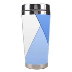 Stripes Lines Texture Stainless Steel Travel Tumblers