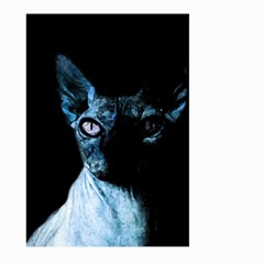 Blue Sphynx cat Large Garden Flag (Two Sides)
