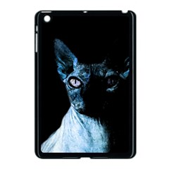 Blue Sphynx cat Apple iPad Mini Case (Black)