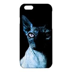 Blue Sphynx cat iPhone 6/6S TPU Case