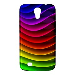 Spectrum Rainbow Background Surface Stripes Texture Waves Samsung Galaxy Mega 6 3  I9200 Hardshell Case