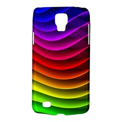 Spectrum Rainbow Background Surface Stripes Texture Waves Galaxy S4 Active
