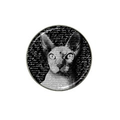 Sphynx cat Hat Clip Ball Marker