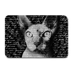 Sphynx cat Plate Mats
