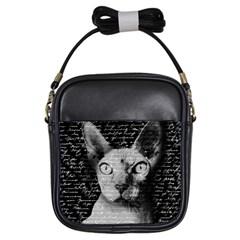 Sphynx cat Girls Sling Bags