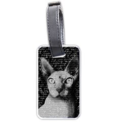 Sphynx cat Luggage Tags (One Side)