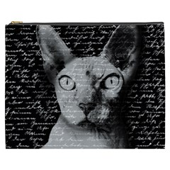 Sphynx cat Cosmetic Bag (XXXL)