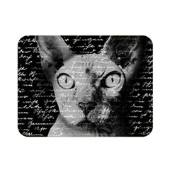 Sphynx cat Double Sided Flano Blanket (Mini)