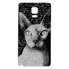 Sphynx cat Galaxy Note 4 Back Case