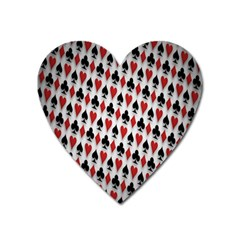 Suit Spades Hearts Clubs Diamonds Background Texture Heart Magnet