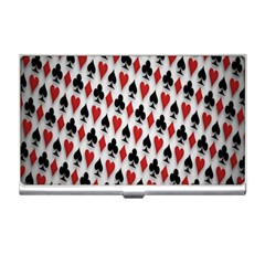 Suit Spades Hearts Clubs Diamonds Background Texture Business Card Holders