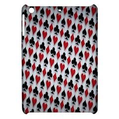 Suit Spades Hearts Clubs Diamonds Background Texture Apple iPad Mini Hardshell Case