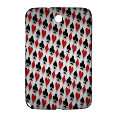 Suit Spades Hearts Clubs Diamonds Background Texture Samsung Galaxy Note 8.0 N5100 Hardshell Case