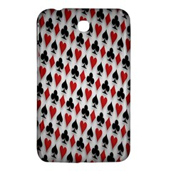 Suit Spades Hearts Clubs Diamonds Background Texture Samsung Galaxy Tab 3 (7 ) P3200 Hardshell Case