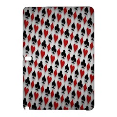 Suit Spades Hearts Clubs Diamonds Background Texture Samsung Galaxy Tab Pro 12.2 Hardshell Case