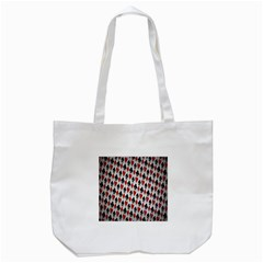 Suit Spades Hearts Clubs Diamonds Background Texture Tote Bag (White)