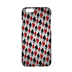 Suit Spades Hearts Clubs Diamonds Background Texture Apple Iphone 6/6s Hardshell Case