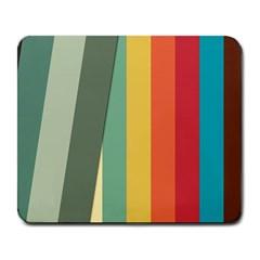 Texture Stripes Lines Color Bright Large Mousepads