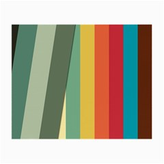 Texture Stripes Lines Color Bright Small Glasses Cloth