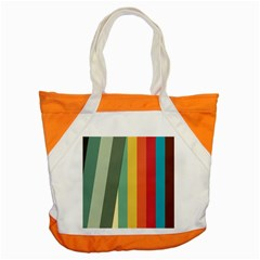 Texture Stripes Lines Color Bright Accent Tote Bag