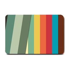Texture Stripes Lines Color Bright Small Doormat