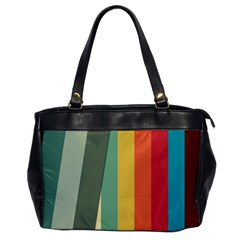 Texture Stripes Lines Color Bright Office Handbags