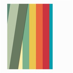 Texture Stripes Lines Color Bright Small Garden Flag (Two Sides)