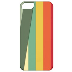 Texture Stripes Lines Color Bright Apple Iphone 5 Classic Hardshell Case