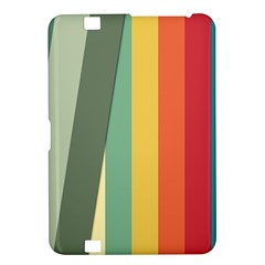 Texture Stripes Lines Color Bright Kindle Fire HD 8.9
