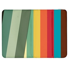 Texture Stripes Lines Color Bright Samsung Galaxy Tab 7  P1000 Flip Case