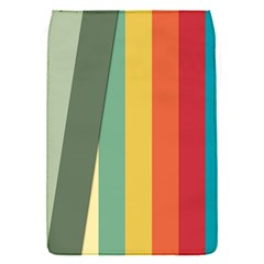 Texture Stripes Lines Color Bright Flap Covers (S)