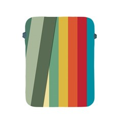 Texture Stripes Lines Color Bright Apple Ipad 2/3/4 Protective Soft Cases