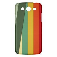 Texture Stripes Lines Color Bright Samsung Galaxy Mega 5.8 I9152 Hardshell Case
