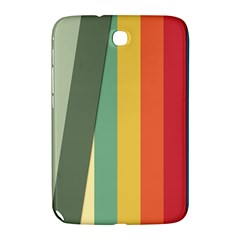 Texture Stripes Lines Color Bright Samsung Galaxy Note 8.0 N5100 Hardshell Case